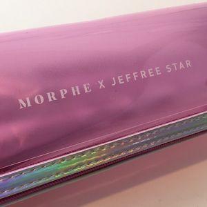 MORPHE x JEFFREY STAR 7 BRUSH Kit Set w Case NEW